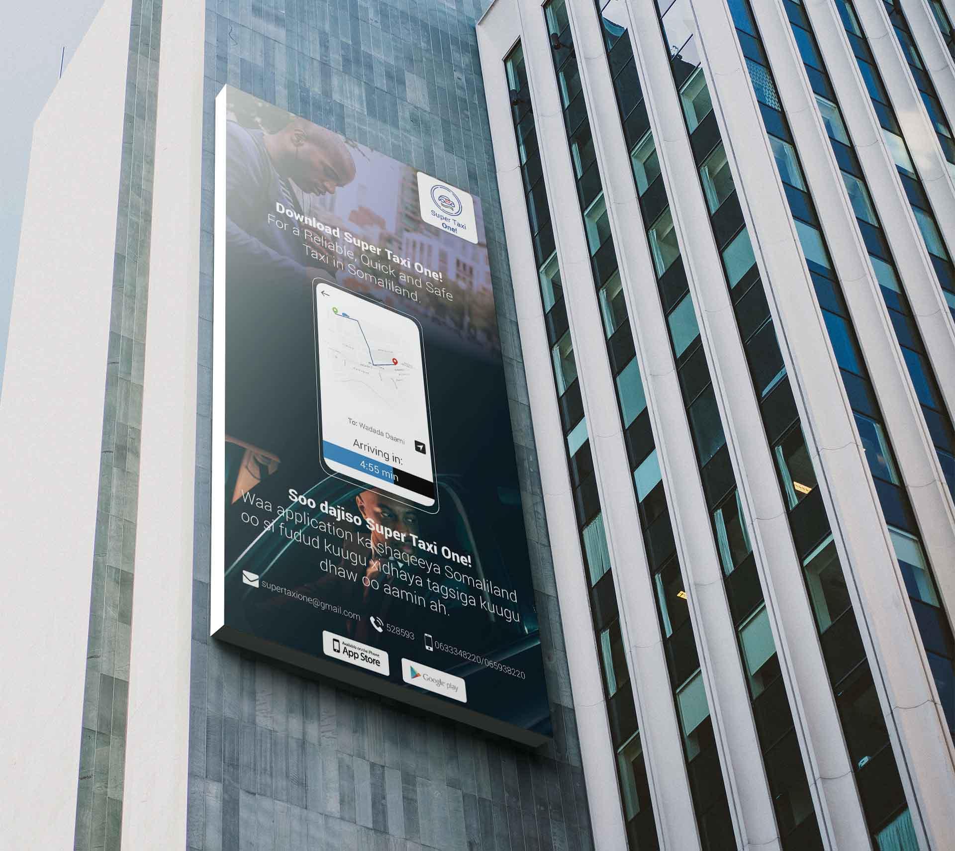 Billboard-supertaxi